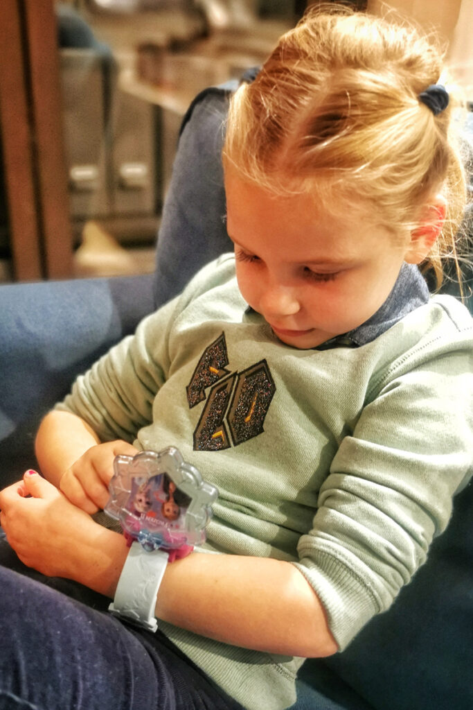 Frozen horloge, VTECH horloge, kinderhorloge, meisjes horloge, Frozen II learning watch, girlslabel