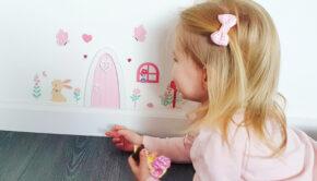 elfendeurtje, a little lovely company, girlslabel, sprookjes deurtje, girlslabel review, leuk voor meisjes, meisje 4 jaar