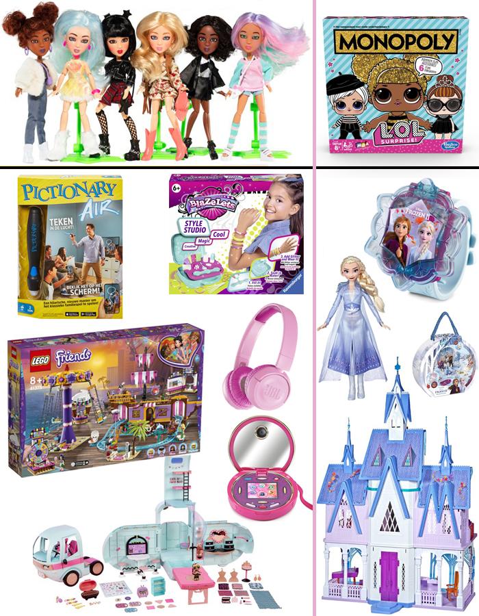 sinterklaas cadeautjes, meisjes cadeau 6 jaar, meisje 7 jaar, meisjes 5 jaar, LOL surprise, SNapstar poppen, Frozen 2 speelgoed