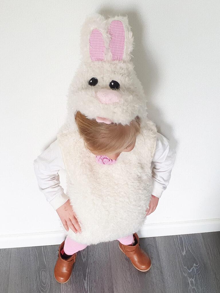 verkleed als konijn