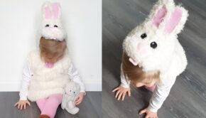 verkleed als konijn, konijnenpakje, verkleedkleding konijn