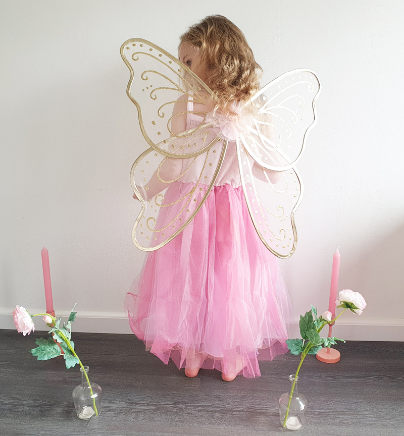 verkleedvleugels, vlinder verkleedset