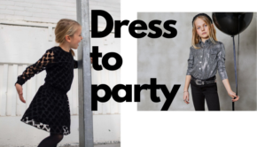 feestkleding meisjes, Party time girls