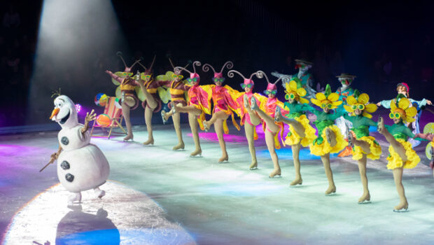 disney on ice review, olaf on ice, disney on ice nederland, disney on ice 2020