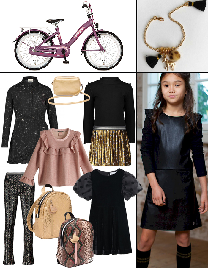 feestkleding-meisjes, alpine kinderfiets, alpine meisjesfiets, party outfit, girlslabel, meisjes inspiratie