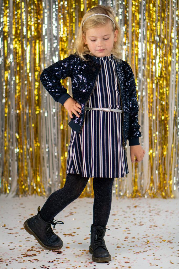 meisjesjurkje, feestjurkje, lechic, meisjes party outfit