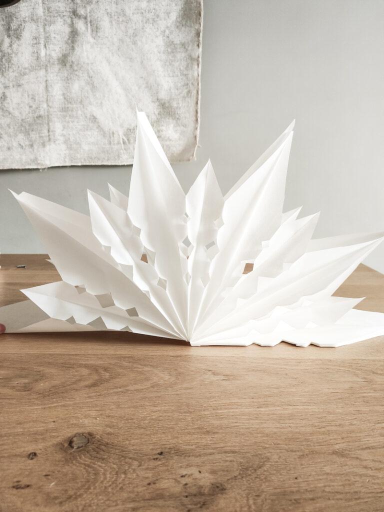 papieren ster maken