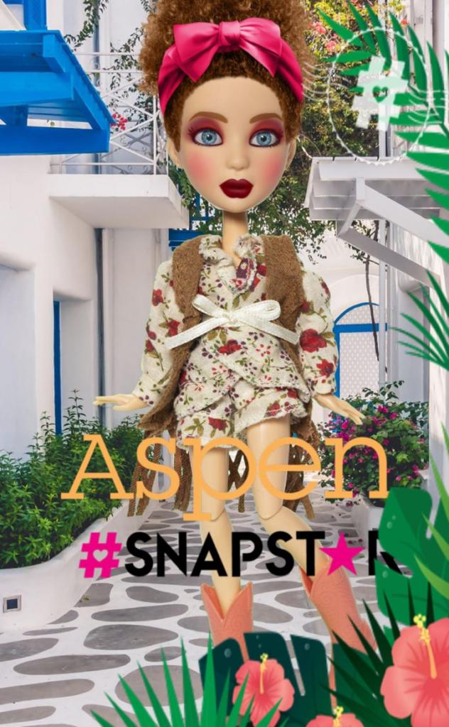 snapstar aspen, snapstar dolls, fashion dolls, social media inluencer