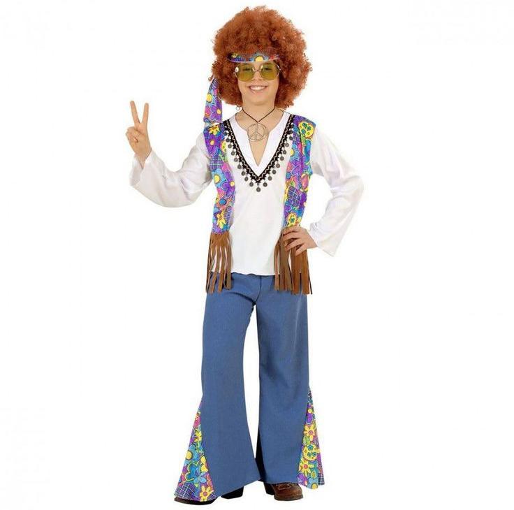 flower power carnaval kostuum, 10 originele carnavals outfits, carnaval pak jongen
