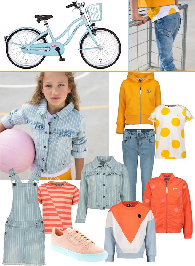 meisjeskleding voorjaar, 2020, alpina meisjesfiets