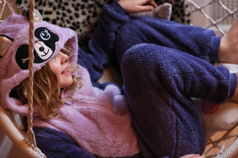 onesie budget tip, goedkope onesie, girls onesie, meisjes onesie, panda onesie, flamingo onesie