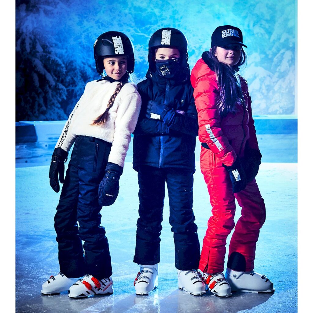Wintersport kinderkleding, skikleding kind, skikleding kind korting, superrebel korting