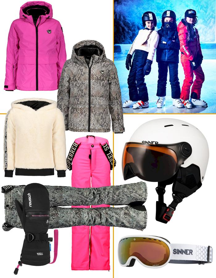 wintersport kleding, wintersport musthaves, nodig voor wintersport, wintersportvakantie kind, skikleding kind, skioutfit meisje