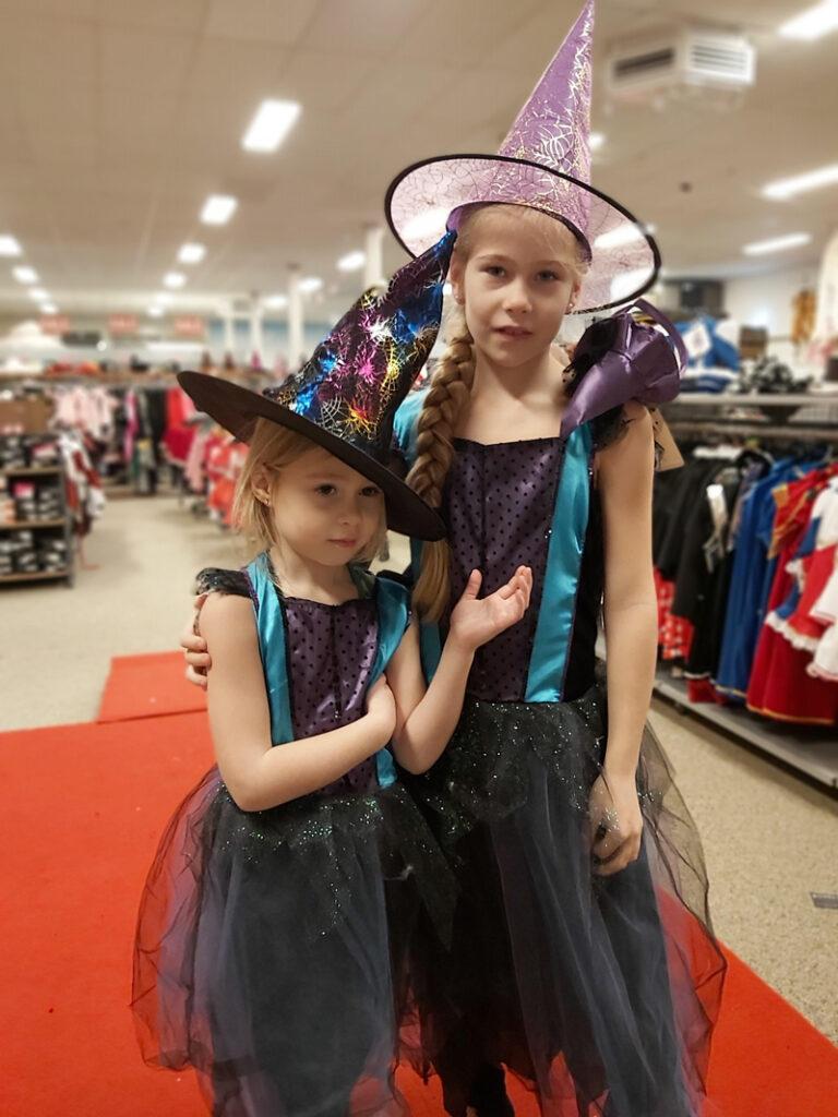 carnavals kostuum voor meisjes, heks kostuum