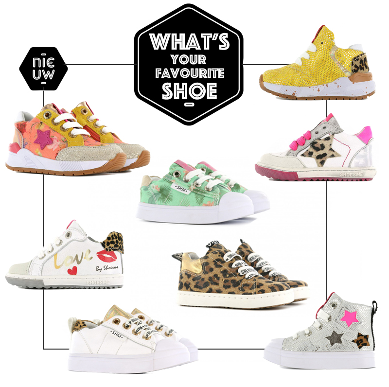 meisjes sneakers, meisjesschoenen, kindersneakers, bloemenprint sneakers, animal print sneakers, shoesme sneakers
