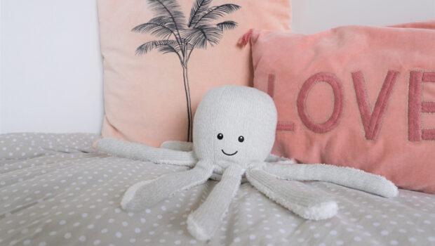 olly de octopus, flow amsterdam, speaker knuffel, kinder speaker