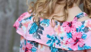 bloemen top, gebloemde top, gebloemd blousje meisje, blouse meisje, offsholder blouse meisje
