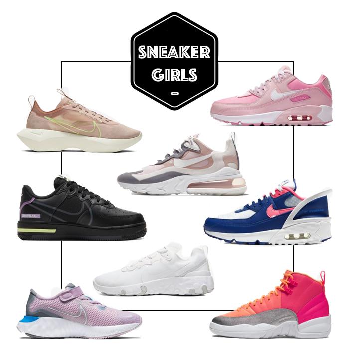 nike sneakers kind meisjes, STOERE MEIDEN SNEAKERS
