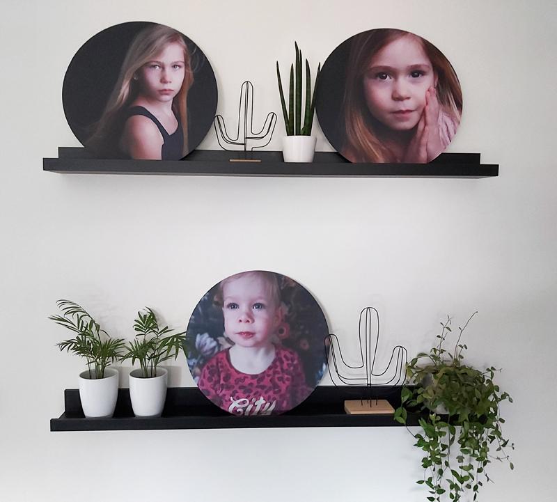 wandcirkels met foto, wandcirkel voor aan de muur, fotocadeau, fotocirkels