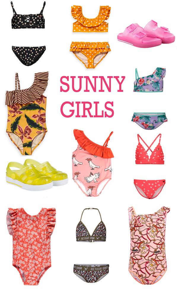 badkleding voor meisjes, bikini voor meisjes, zwemkleding voor meisjes, zomer meisjeskleding