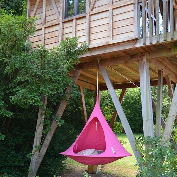 hanging cocoon, hangende speeltent