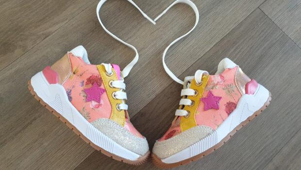 shoesme sneakers, bloemensneakers, gebloemnde sneakers, sneakertjes voor meisjes