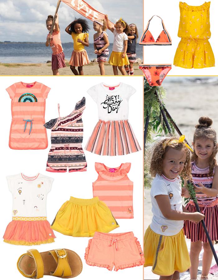 zomerkleding meisjes, zomerkleding voor meisjes, meisjeskleding, girlslabel, kinderkleding zomer 2020