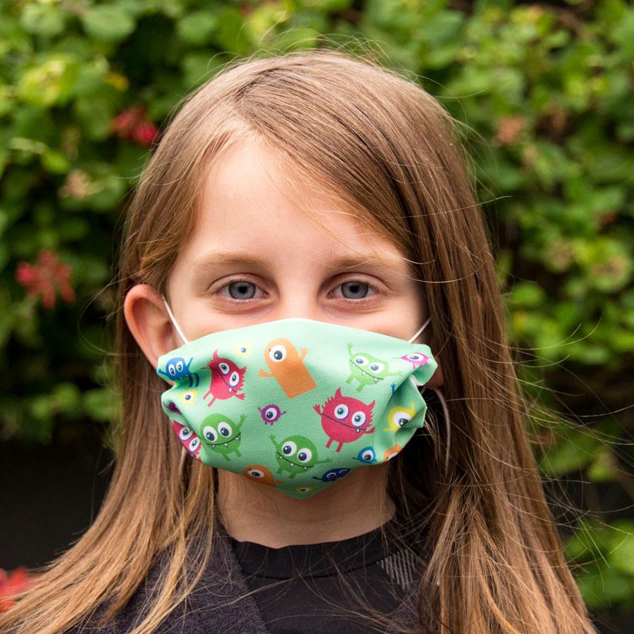 gepersonaliseerde mondkapjes voor kinderen, mondkapje met fotoprint, grappige mond kapjes, mondkapje kind.