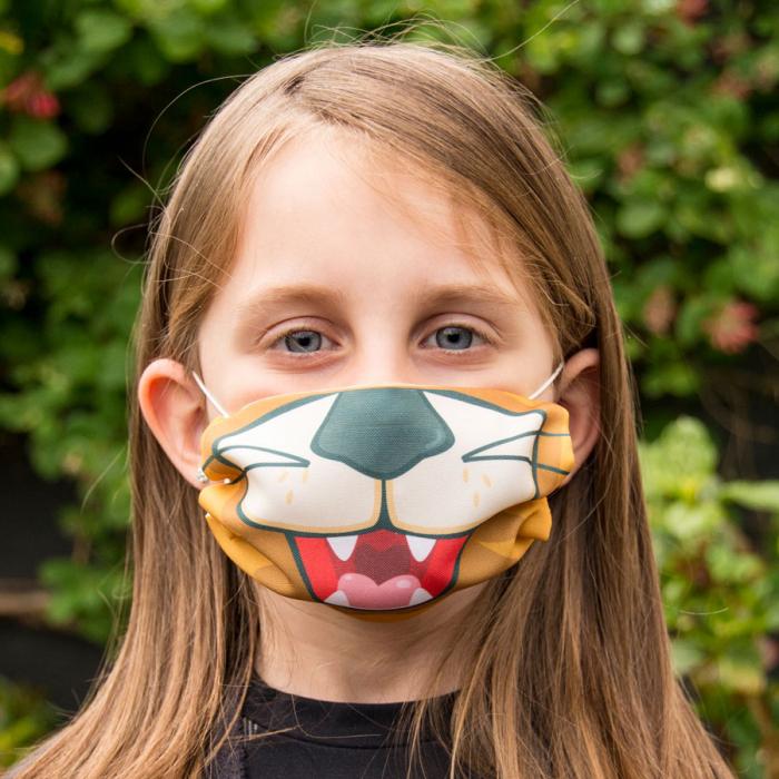 mondkapje voor kinderen, grappig mondkapje voor kind, kinder mondkapjes