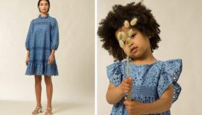 IVY & OAK MINI, mini me, girlslabel, twinning, twinning girls, minime fashion, minimemode, IVY & OAK, Broderie anglaise, fashiontrend, zomer 2020