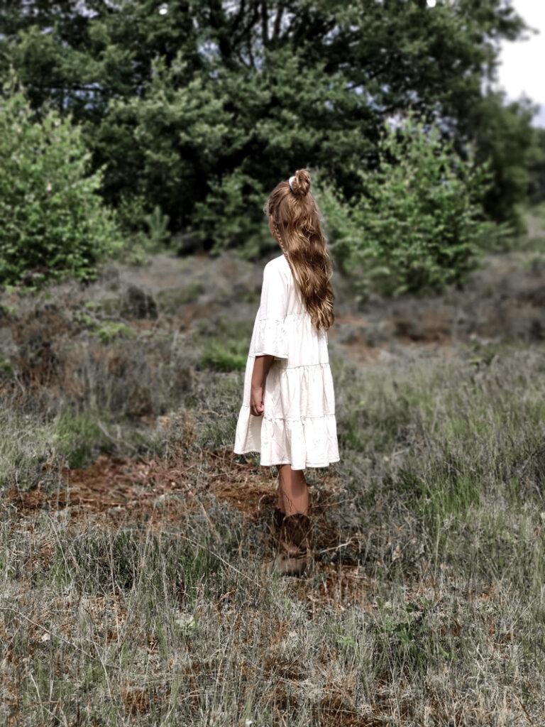 raine jurkje , boho jurkje meisje, zomerjurk meisje, raine meisjeskleding