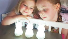 konijnen lampjes, nachtlampje