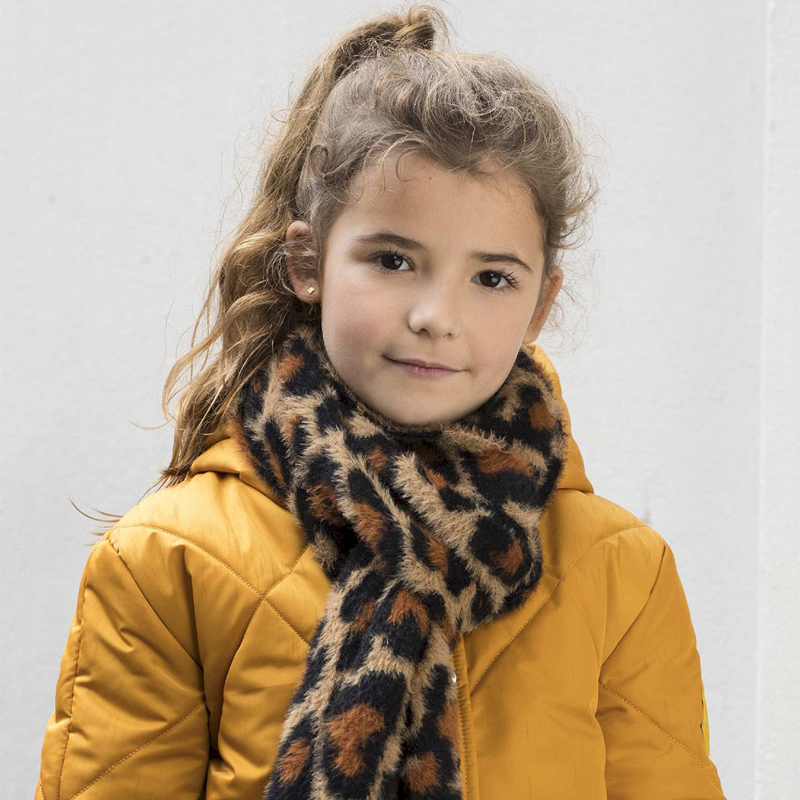 like flo, gele winterjas meisje, okergele winterjas kind, kinderjassen 2020-2021, like flo jas