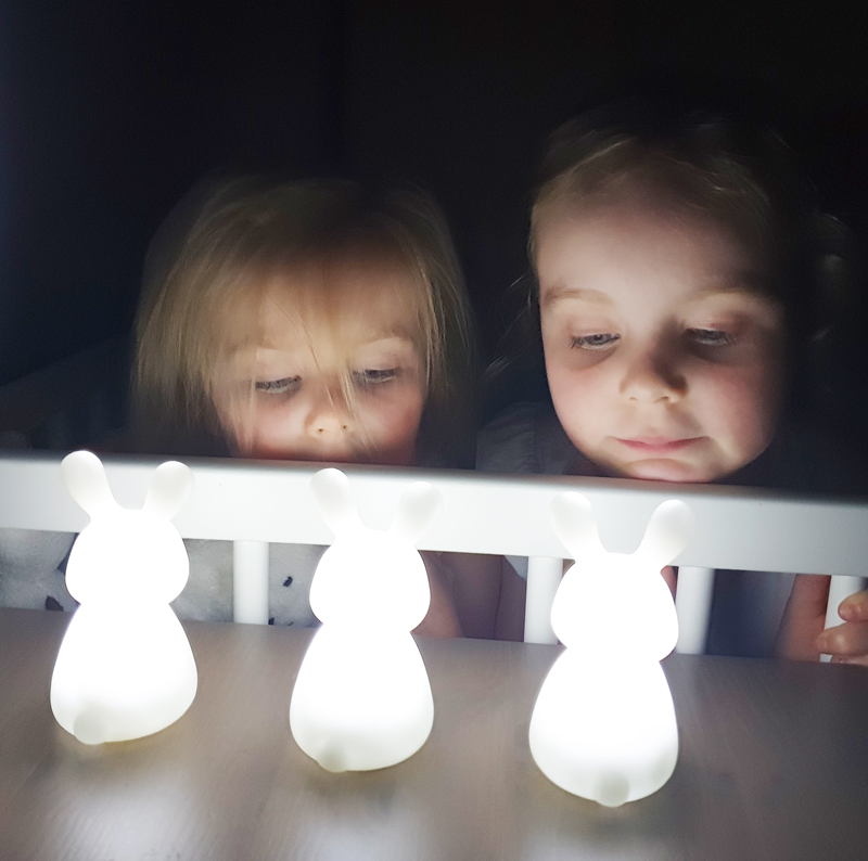 konijnen lampjes, olala boutique, kinderlampjes, lampje konijn, olala konijnen lampjes, kleinegiraf, girlslabel review