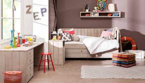 Hoe ziet een echte meisjeskamer eruit?, meisjeskamers, tienerkamer, kajuitbed