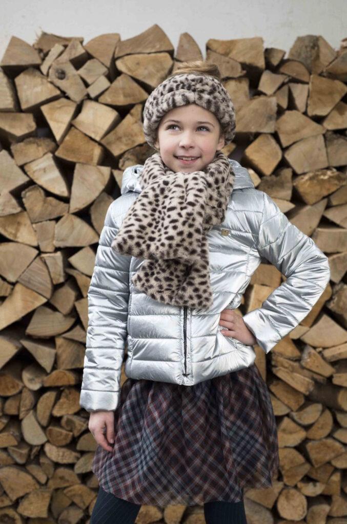like flo jas zilver, zilver winterjas meisje, back to school kleding shoppen, happybee