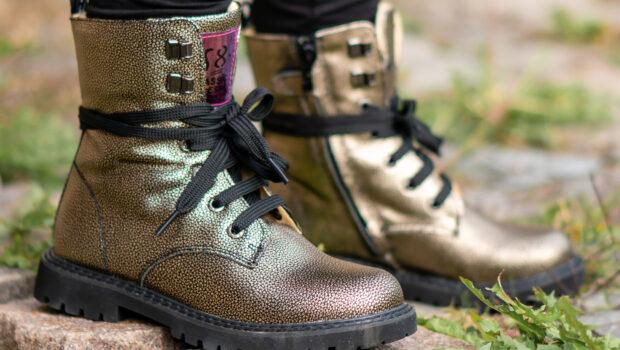 biker boots meisje, stoere bikerboots, veterboots, meisjeslaarzen, meisjesschoenen