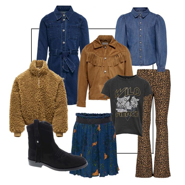 western look girls, western look meisjes, western styling, trendy meisjeskleding, meisjeskleding trends, nation glamour day, meisjeskleding korting, kortingscode kleertjes.com