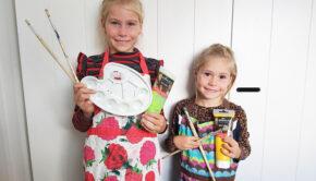knutsel tips voor kinderen, DIY knutselen, knutselen met girlslabel, knutsel ideeen voor kinderen