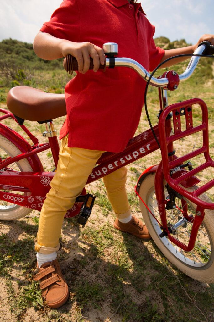 supersuper kinderfietsen, supersuper fiets, supersuper challenge, rode kinderfiets 16 inch. rode kinderfiets 20 inch
