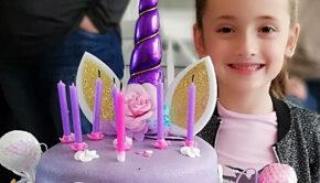 Verjaardag vieren in Corona tijd, verjaardag meisje 9 jaar, unicorn feestje, verjaardagsfeestje meisje, meisjesfeest