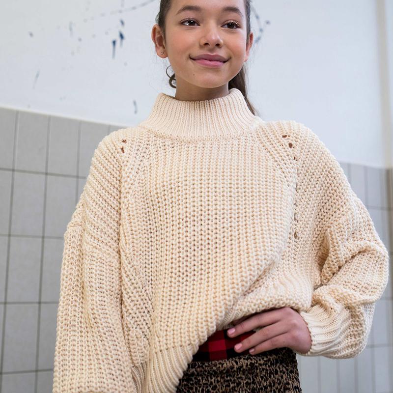 meisjes trui, oversized trui meisjes, fashion trend winter 2020, meisjes sweater