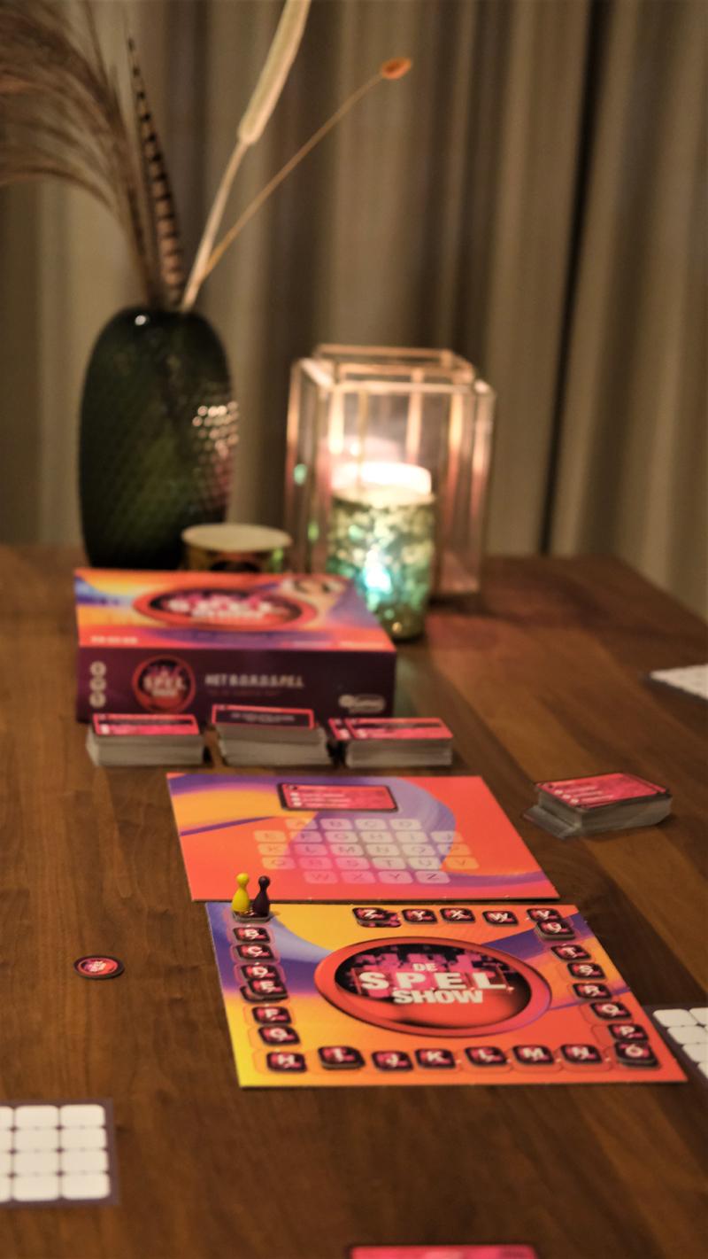 S.P.E.L. Show, spel show review, spel show bordspel