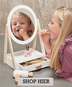 make up tafel, houten make up, makeup voor jonge meisjes, meisje