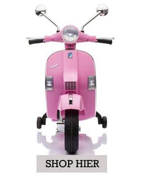 speelgoed, speelgoed scooter, speelgoed vespa, roze vespa