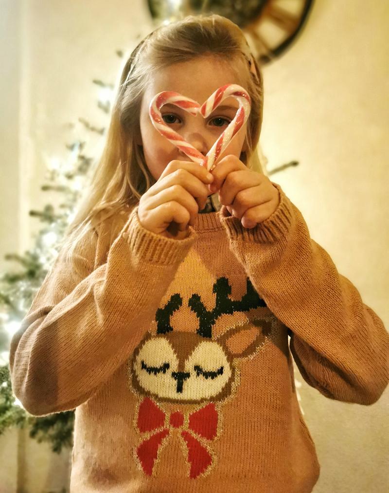 kersttrui, kersttrui meisje, kersttrui bristol, foute kersttrui kind