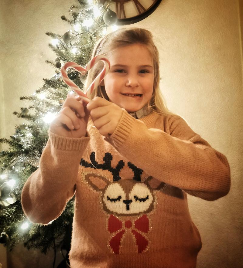 kersttrui, kersttrui meisje, kersttrui met rendier