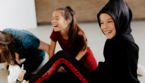 E&N, nieuw meisjeskledingmerk, Ellen ten hoog, naomi van As, sportieve meidenkleding, sportkleding meisjes