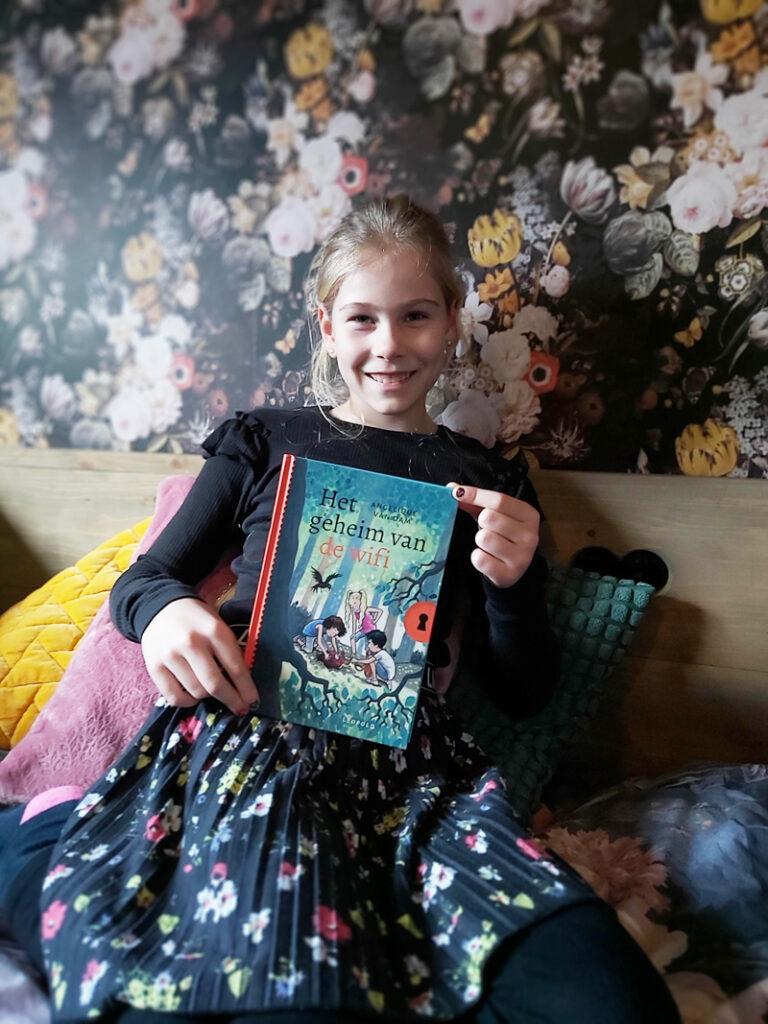 Het geheim van de wifi, kinderboek, Het geheim van de Wifi, Angelique van Dam