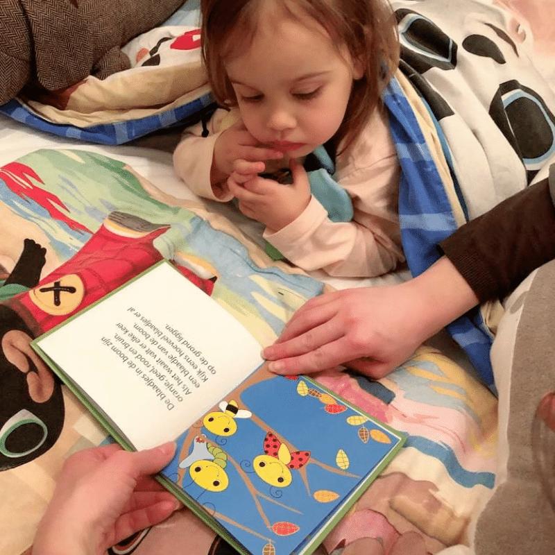 samen lezen, voorlezen, jonge ouders, kinderboekjes